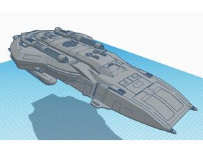 Federation Section 31 Long Range Attack Shuttle