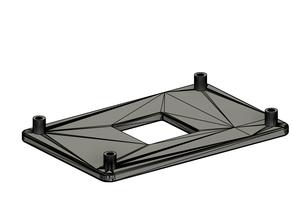 AM4 Stock fan mount backplate