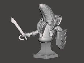 Banana Knight Bust