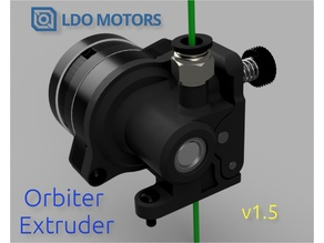 The Orbiter v1.5 140g Dual Drive Direct Extruder