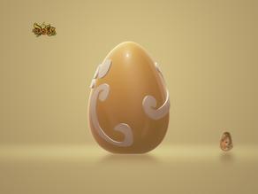 Egg Dofus ivory / Oeuf Dofus Ivoire