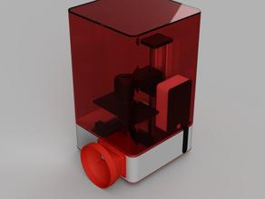 Elegoo Mars Non-Destructive Ventilation and Heating Solution