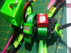 Battery strap mount for BN220 GPS