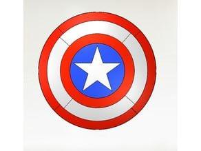 Printable Captain America Shield Ø30 Cm