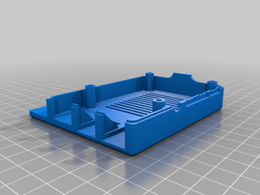 Raspberry Pi 4 Model B Case for 2020/2040 Extrusion