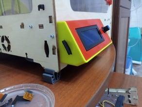 UlTi 3d printer display housing