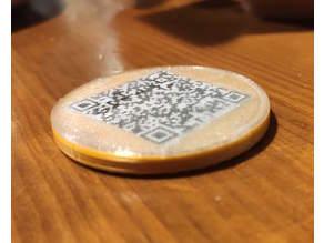Bitcoin binario físico real BTC Real physical binary bitcoin
