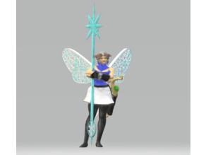 Female Frost Sprite Ranger / Cleric / Druid