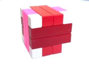Convolution's Cousin - Interlocking puzzle by Stewart Coffin