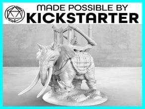 War Elephant - Casual Pose - Tabletop Miniature