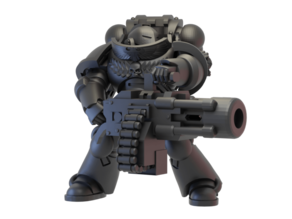 Order of the Aliens Heavy Weapons Warrior
