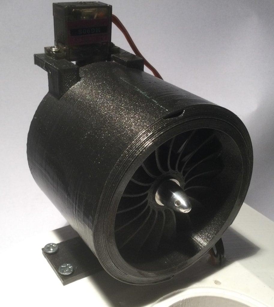 Turbine Speedboat Fan