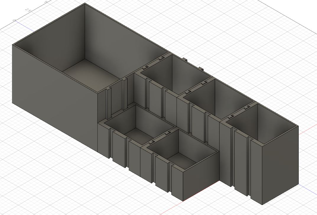 Expandable boxes for the desktop, office, kitchen or bathroom