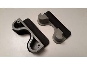 Gewehrhalter für dünne Tischplatten, rifle holder for thin tabletops