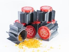 Silica gel Universal spool box