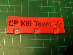 Kill Team Point Tracker