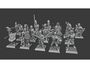 Warmaster Empire Skirmishers
