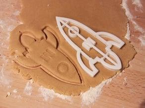 Rocket Cookie Cutter