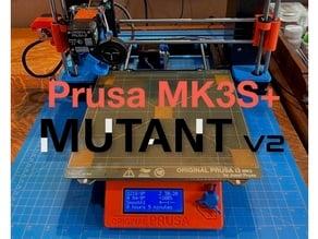 Prusa MUTANT Upgrade Kit (for MK2.5S, MK3S, MK3S+)