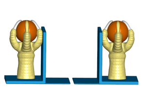 Eagle Claw/Ball Bookends (Left and Right)
