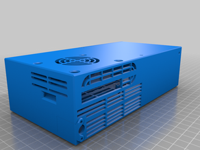 Enclosure for Raspberry Pi 4 NAS RAID with Double SSD