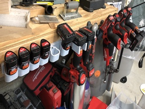 Cordless Drill Storage Mounts