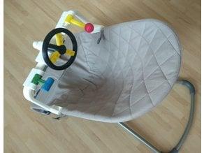 Babybjörn bouncer steering wheel toy (unofficial)