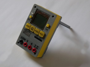 Open Source STM32 Multimeter case