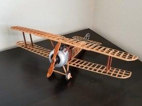 Sopwith Camel Biplane Scale Model