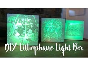 DIY Lithophane Light Box