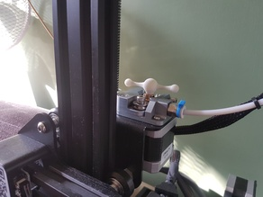Extruder knob/tap