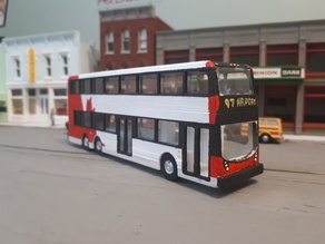 HO Scale Enviro500 Double Decker Bus