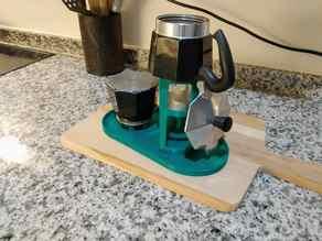 Moka Pot - Bialetti - 3 cups - Fancy Dryer/stand