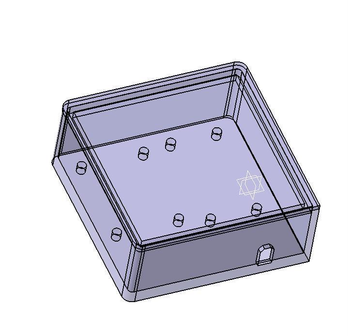 Box for Relay & NodeMCU ESP8366