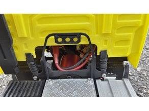 rc truck 1/14 cabin suspension