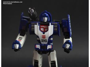 Transformers DX9 Invisible Mirage head