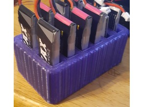450 Mah 1S Lipo battery organizer tall