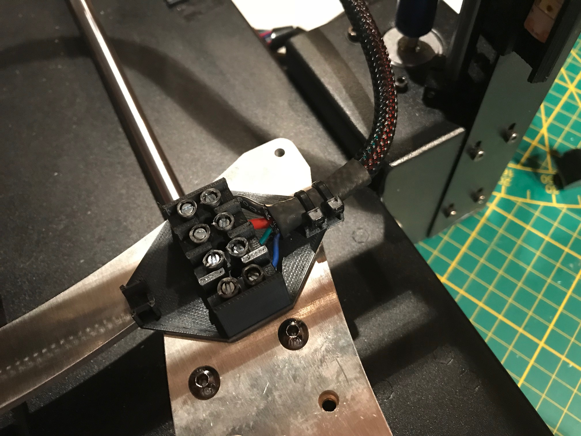 Alternative Kabelverbindung Heatbed Anycubic i3 Mega by Hiob ...