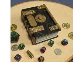 Secret Lock Book of the Dead