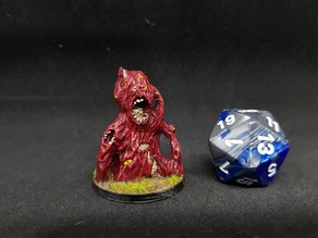 Gibbering Mouther for 28mm Tabletop Roleplaying