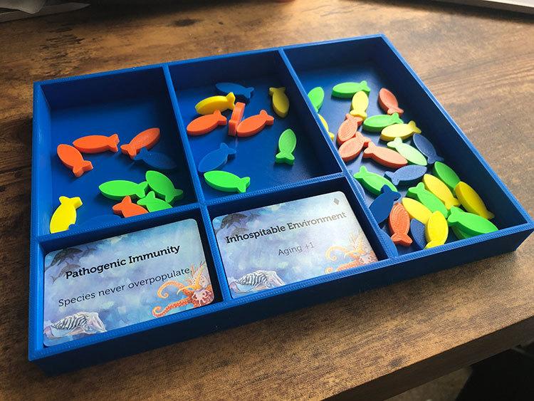Oceans Fish Tray