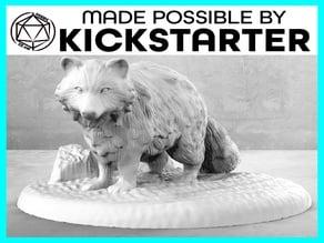 Raccoon - Casual Pose - Tabletop Miniature