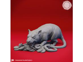 Maks the Giant Rat - Tabletop Miniature