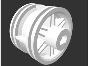 DC motor / Lego wheel
