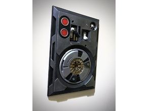 Droid Access Panel Double Light Switch