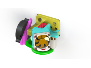 Morninglion Industries BTT ZSYong Mount for CR & Ender Machines