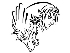 Zelda: Twilight Princess stencil