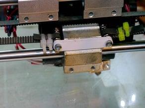 Anet A8 X-Axis belt brace.