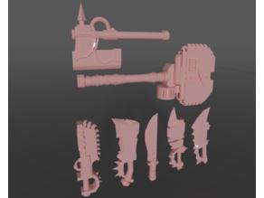 Ork Marauder melee weapons