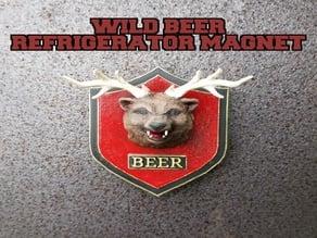 WILD BEER magnet